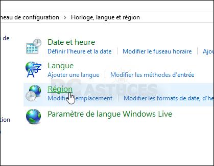 PC Astuces - Changer la langue de Windows 10