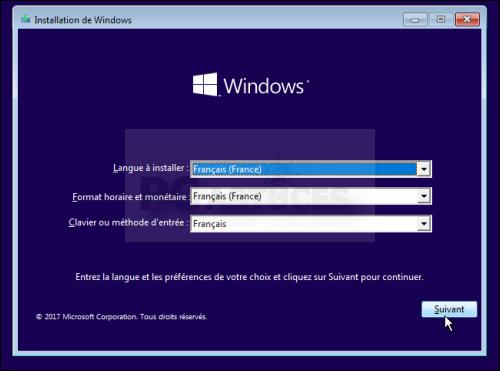 installer windows 10 sur clé usb avec rufus