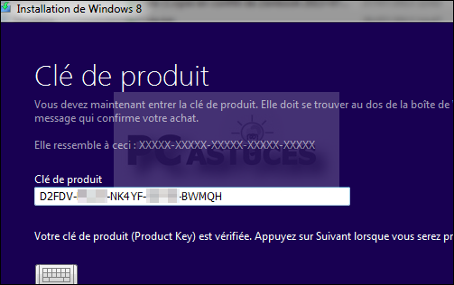 Windows 8.1 peut installer le pack de langue