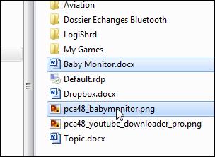 Créer un dossier à partir des fichiers sélectionnés Creer_dossier_fichier_12