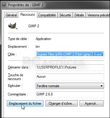 logiciel changer localisation