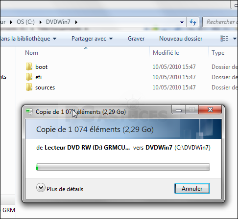 <b>Créer</b> un support d'installation pour <b>Windows</b> - <b>Windows</b> Help