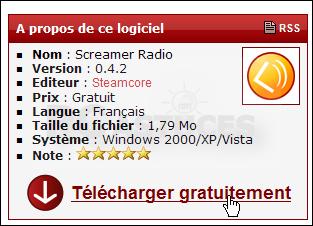 GRATUITEMENT TÉLÉCHARGER RADIO SCREAMER