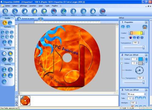 Pc astuces test logiciel etiquettes cd dvd - Telecharger open office gratuit pour tablette android ...