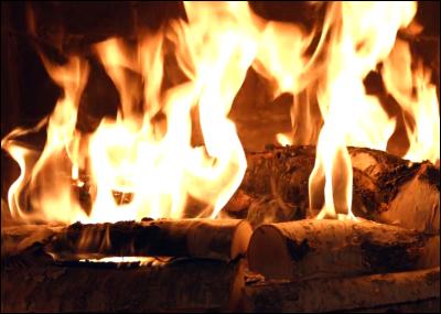 pc astuces afficher un feu de chemin e sur sa tv. Black Bedroom Furniture Sets. Home Design Ideas
