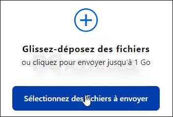 Envoyer un fichier volumineux de manière sécurisée avec Firefox Send Firefox_send_02