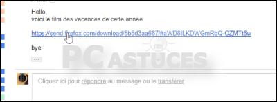 Envoyer un fichier volumineux de manière sécurisée avec Firefox Send Firefox_send_07
