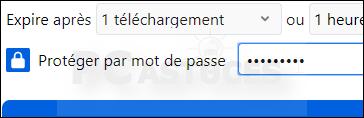 Envoyer un fichier volumineux de manière sécurisée avec Firefox Send Firefox_send_13