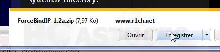 Forcer un logiciel à utiliser une connexion réseau spécifique Forcer_connexion_03