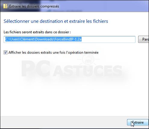 Forcer un logiciel à utiliser une connexion réseau spécifique Forcer_connexion_06