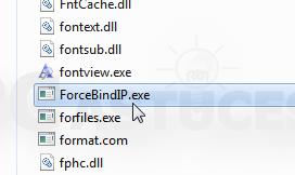 Forcer un logiciel à utiliser une connexion réseau spécifique Forcer_connexion_20