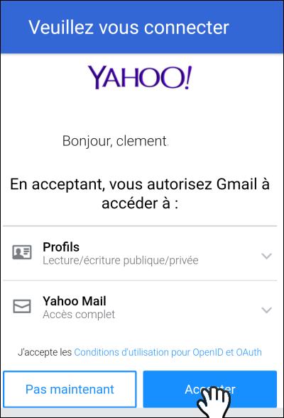 Gmailifier un compte Yahoo!, Outlook ou Orange Gmailify_14