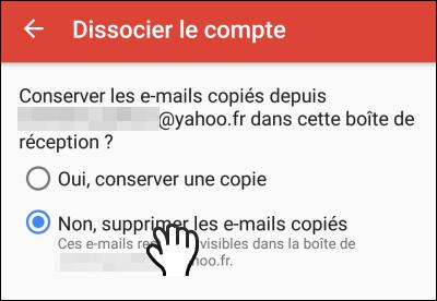 Gmailifier un compte Yahoo!, Outlook ou Orange Gmailify_20