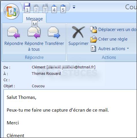 PC Astuces - Gérer un compte Hotmail avec Outlook