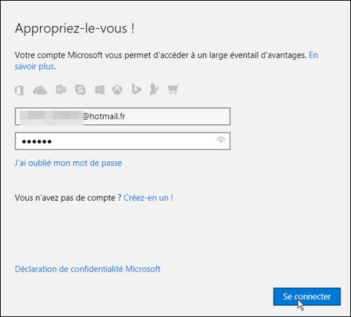 j'ai un problème avec mon compte Skype et mon compte Microsoft, quand je veux me connecter au Skype avec mon compte Microsoft en mettant mes information de Microsoft, il se connecte ...