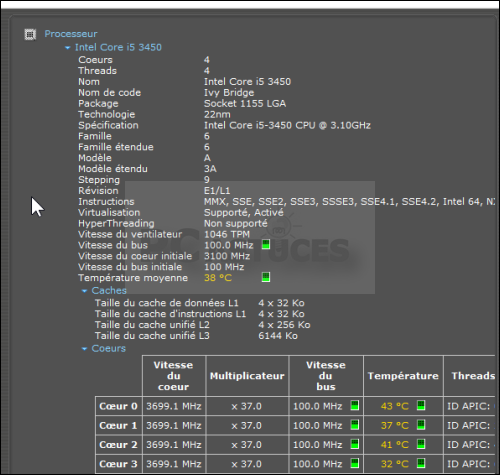 Dossier : Lister les composants de son ordinateur Lister_composants_09