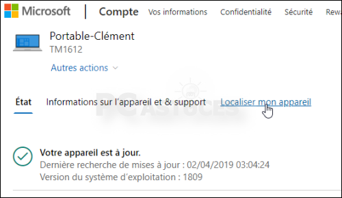 Localiser et bloquer son ordinateur à distance Localisation_ordinateur_10
