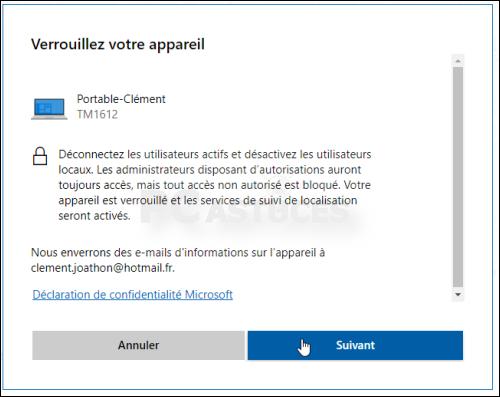 Localiser et bloquer son ordinateur à distance Localisation_ordinateur_13