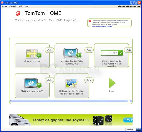 PC Astuces - Mettre à jour son GPS TomTom