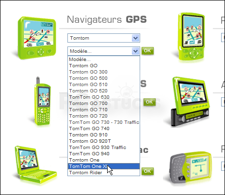 TomTom Map Europe 1GB