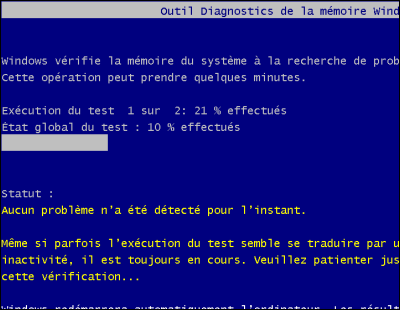 Probleme de memoire windows 7