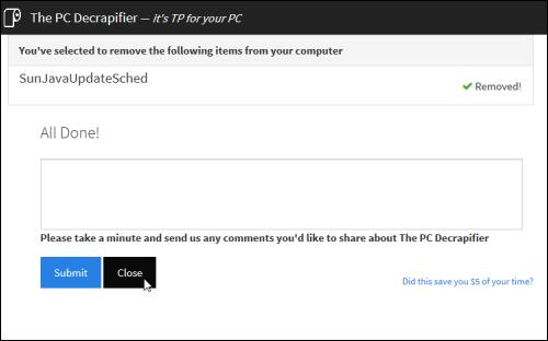 THE PC DECRAPIFIER