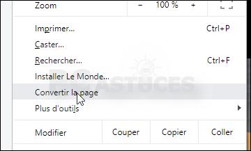 Nettoyer une page Web avant de l'imprimer Mode_lecture_05