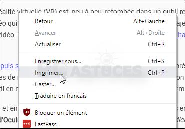 Nettoyer une page Web avant de l'imprimer Mode_lecture_08