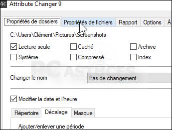 Pc Astuces Modifier La Date Et L Heure D Un Fichier