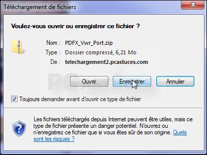 raccourci clavier enregistrer sous pdf