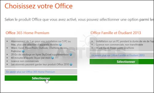 Pc astuces obtenir office 2013 ou office 365 gratuitement - Telechargement gratuit office 2007 avec cle ...