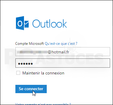 hotmail fr se connecter