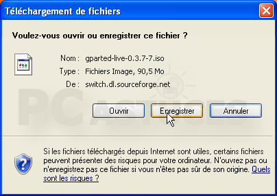 FOR TÉLÉCHARGER 7 GPARTED WINDOWS
