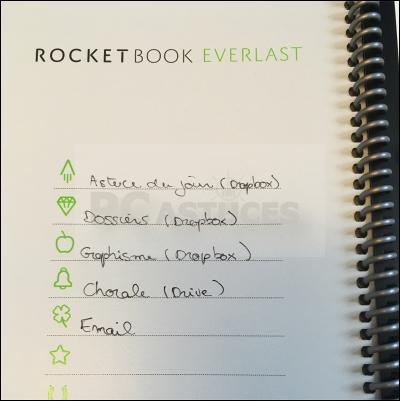 Noter, scanner et partager ses notes sans gaspiller de papier avec Rocketbook Rocketbook_15