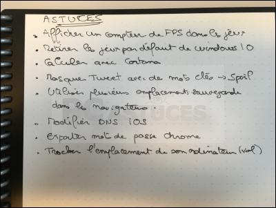 Noter, scanner et partager ses notes sans gaspiller de papier avec Rocketbook Rocketbook_16