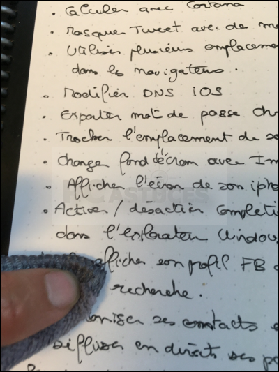 Noter, scanner et partager ses notes sans gaspiller de papier avec Rocketbook Rocketbook_18