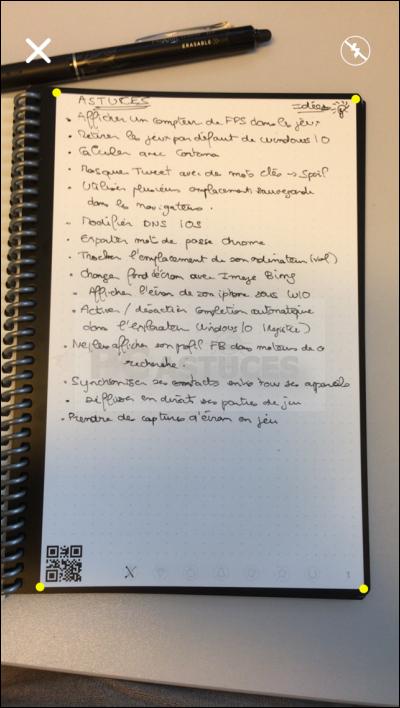 Noter, scanner et partager ses notes sans gaspiller de papier avec Rocketbook Rocketbook_21