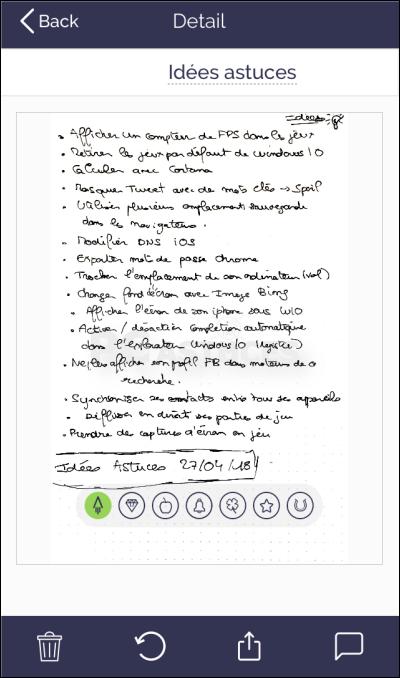 Noter, scanner et partager ses notes sans gaspiller de papier avec Rocketbook Rocketbook_24