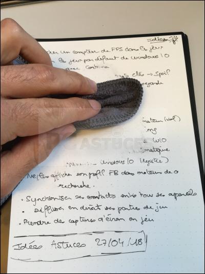 Noter, scanner et partager ses notes sans gaspiller de papier avec Rocketbook Rocketbook_26