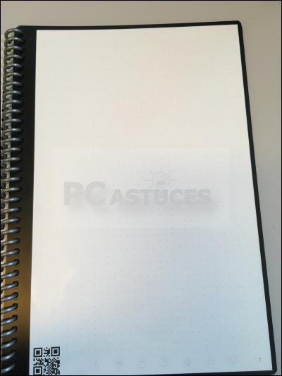 Noter, scanner et partager ses notes sans gaspiller de papier avec Rocketbook Rocketbook_28