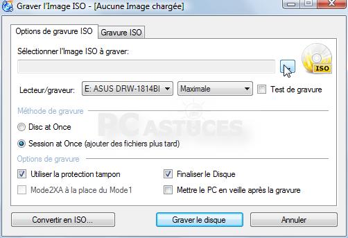 Télécharger ISO Recorder pour Windows - clubic.com