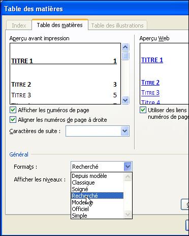Pc Astuces Ajouter Une Table Des Matieres A Ses Documents Word