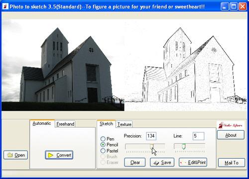 Pc astuces transformer une photo en dessin for Logiciel de dessin gratuit pour pc