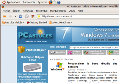 installer linux sur pc portable