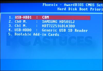 comment installer windows 8 avec une clé usb bootable