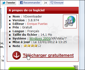 télécharger videos youtube sur pc